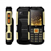 Мобильный телефон BQ BQ-2430 Tank Power Чёрный+Золото