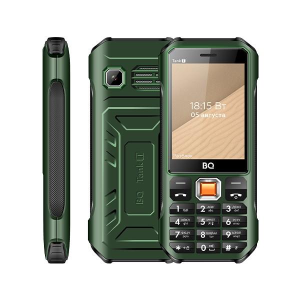 Мобильный телефон BQ BQ-2824 Tank T Тёмно-Зелёный