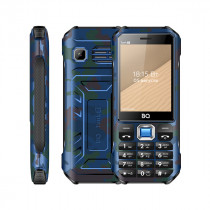Мобильный телефон BQ BQ-2824 Tank T Камуфляж синий