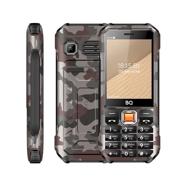 Мобильный телефон BQ BQ-2824 Tank T Камуфляж серый