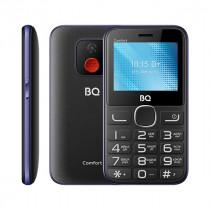 Мобильный телефон BQ BQ-2301 Comfort Чёрный+Синий