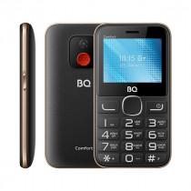 Мобильный телефон BQ BQ-2301 Comfort Чёрный+Золотой