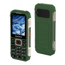Мобильный телефон Maxvi T2 green