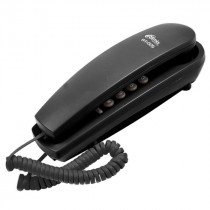 Ritmix RT-005 Проводной телефонный аппарат без дисплея  (настольный/настенный), чёрный