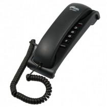 Ritmix RT-007 Проводной телефонный аппарат без дисплея  (настольный/настенный), чёрный