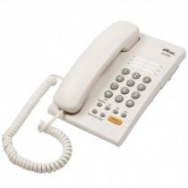 Ritmix RT-330 Проводной телефонный аппарат без дисплея  (настольный/настенный), белый
