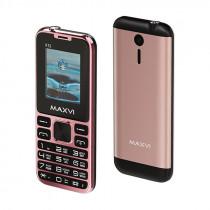 Мобильный телефон Maxvi X12 rose gold