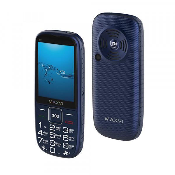 Мобильный телефон Maxvi B9 blue
