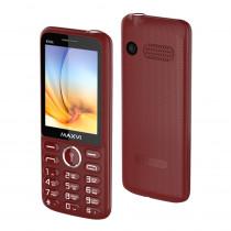 Мобильный телефон Maxvi K15n wine red