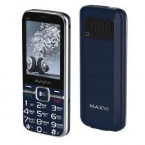 Мобильный телефон Maxvi P18 blue
