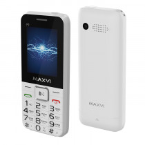 Мобильный телефон Maxvi P2 white