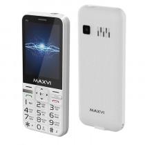 Мобильный телефон Maxvi P3 white