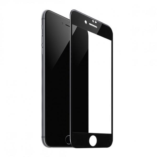Стекло защитное iPhone  6 Plus / 7 Plus / 8 Plus 9D (в тех.упаковке), чёрное