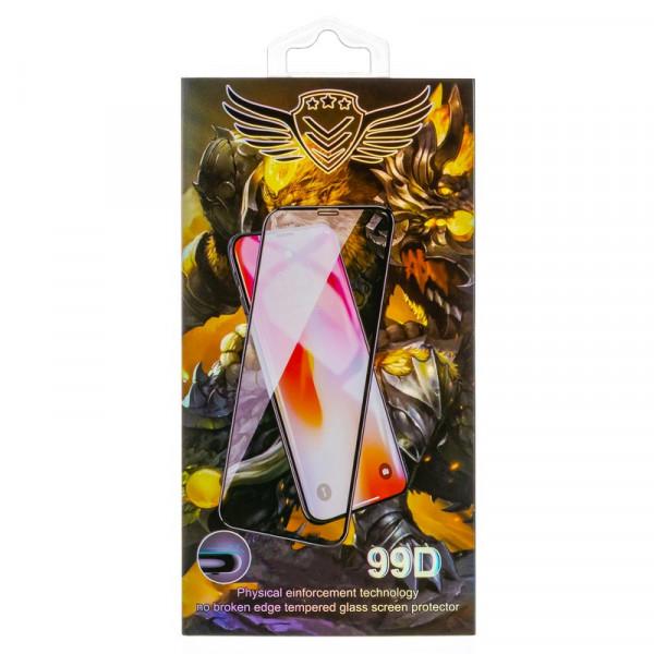 Стекло защитное iPhone  6 / 6S 99D Premium, белое (чёрн.уп.)