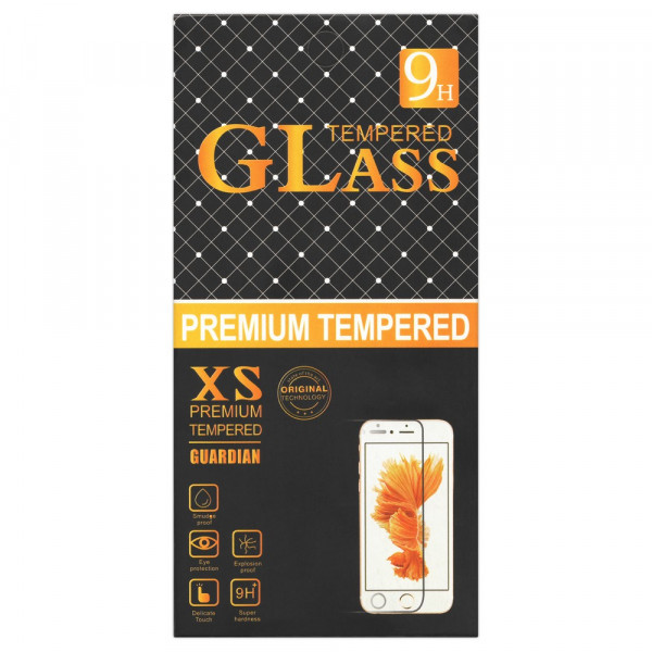 Стекло защитное Samsung A41 GLass XS (чёрн. уп.)