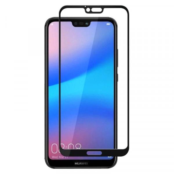 Стекло защитное Huawei Honor 10 9D (в тех.упаковке), чёрное