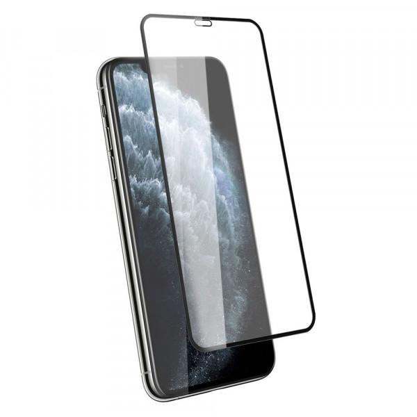 "Стекло защитное iPhone 11 Pro Max (6.5"") / XS Max 9D (в тех.упаковке), чёрное"