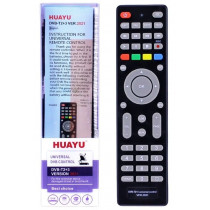 Пульт Huayu для приставок DVB-T2+3 ! ver.2021! (корпус пульта как MTC  DN300) универсальный