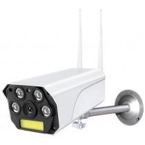 IP WI-FI Smart Camera Ritmix IPC-270s, 1080p (2Mp), PTZ, уличная, ночная съёмка, белая