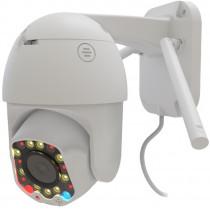 IP WI-FI Smart Camera Ritmix IPC-277s, 1080p (2Mp), PTZ, уличная, ночная съёмка, белая