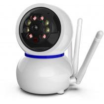IP WI-FI Smart Camera Ritmix IPC-212, 1080p (2Mp), PTZ, ночная съёмка, белая
