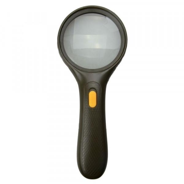 Лупа диаметр 75 мм, 3 LED, 9986-B