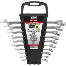 Набор ключей AVS K3N10P гаечные, комбинированные, 10 предметов, (6-19 мм), на держателе