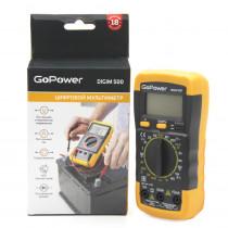 Мультиметр GoPower DigiM 500