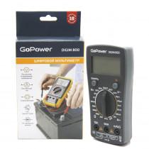 Мультиметр GoPower DigiM 800