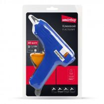 Пистолет клеевой электрический, 40 Вт, D=11.2 мм, алюмин.сопло, шнур 0.5 м, Smartbuy tools