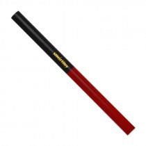 Карандаш строительный, двуцветный, 175 мм, Smartbuy One Tools, красный/синий (уп.10шт.)