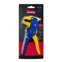 Съемник изоляции, до 6 мм2, нож для обрезки проводника, автоматический, Smartbuy tools