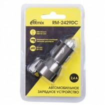 АЗУ 2-USB 2.4A, RM-2429DC, Ritmix