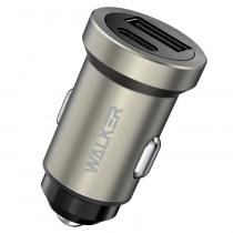 АЗУ 1-USB + Type-C PD, 3A, QC 3.0, Walker WCR-25, серый