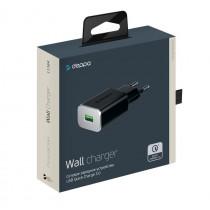 СЗУ 1-USB 3А, QC 3.0, Ultra, чёрный, Deppa