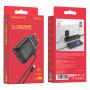 СЗУ Type-C 2.1A, 2-USB, BA50A, чёрный, слитный, Borofone