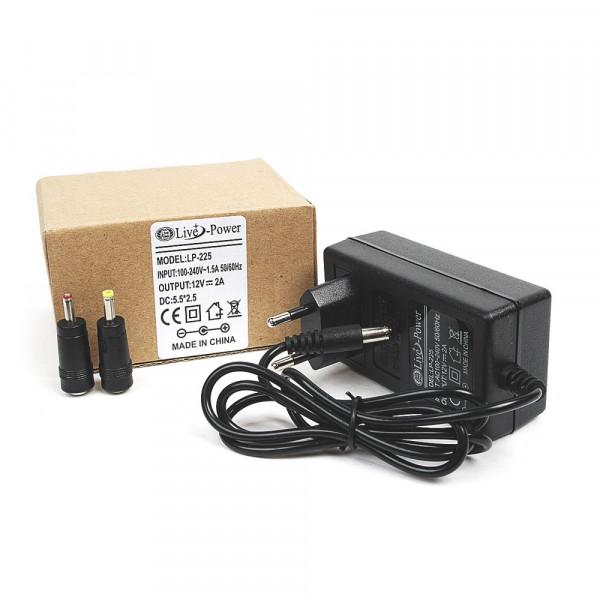 """Блок питания """"Live-Power"""" LP-225 (12V,2A) штекер 5,5*2,5"""
