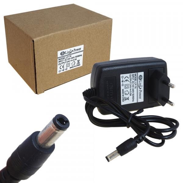 """Блок питания """"Live-Power"""" LP- 78 (24V 0.5A) штекер 5,5*2,5"""