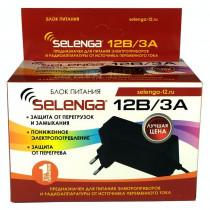 Блок питания (12V, 3A) SELENGA (штекер 5,5*2,5)